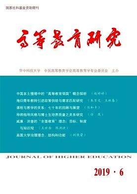 高等教育研究杂志