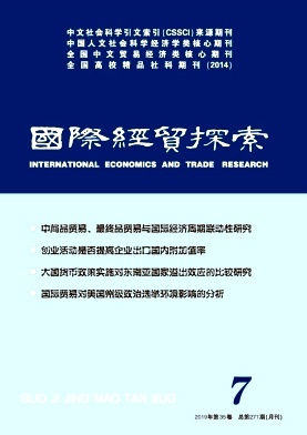 国际经贸探索杂志
