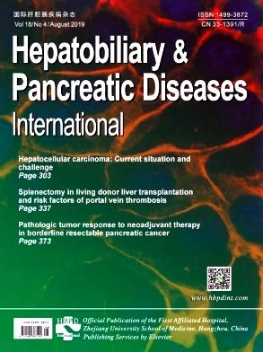 Hepatobiliary & Pancreatic Diseases Internatio杂志