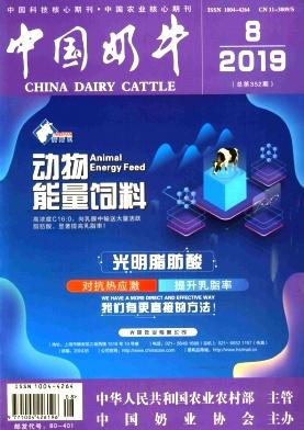 中国奶牛杂志