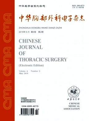 中华胸部外科电子杂志